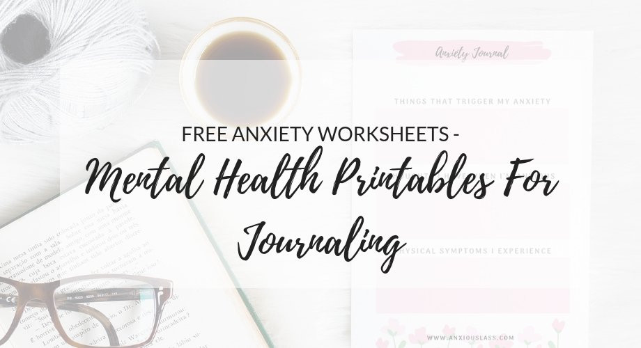 Free Printable Counseling Worksheets Free Anxiety Worksheets Mental Health Printables for