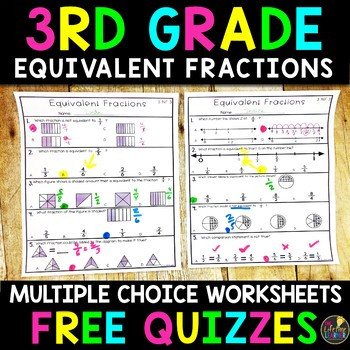 Free Printable Equivalent Fractions Worksheets Equivalent Fractions Worksheet