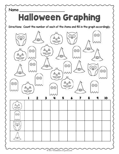 Free Printable Halloween Maths Worksheets Free Printable Halloween Graphing Worksheet