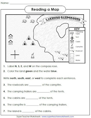 Free Printable Map Worksheets Free Printable Map Skills Worksheets