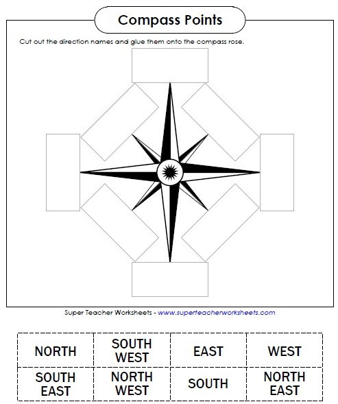 Free Printable Map Worksheets Map Skills Worksheets