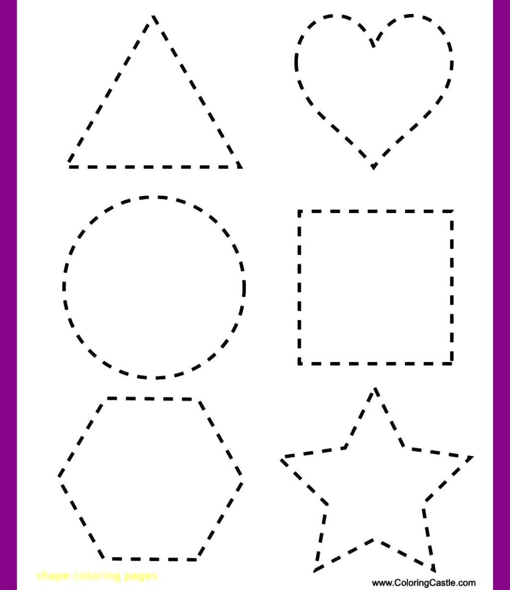 Free Printable Tracing Shapes Worksheets Worksheet Worksheet Shape Tracing Worksheets to You