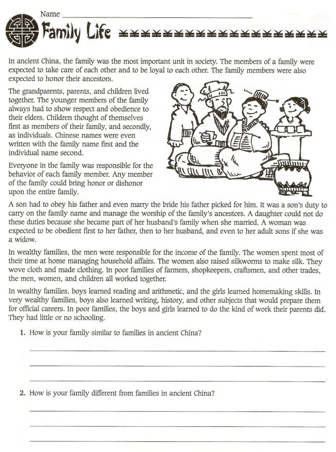 Free Printable World History Worksheets 6th Grade social Stu S Ancient Worksheets World History