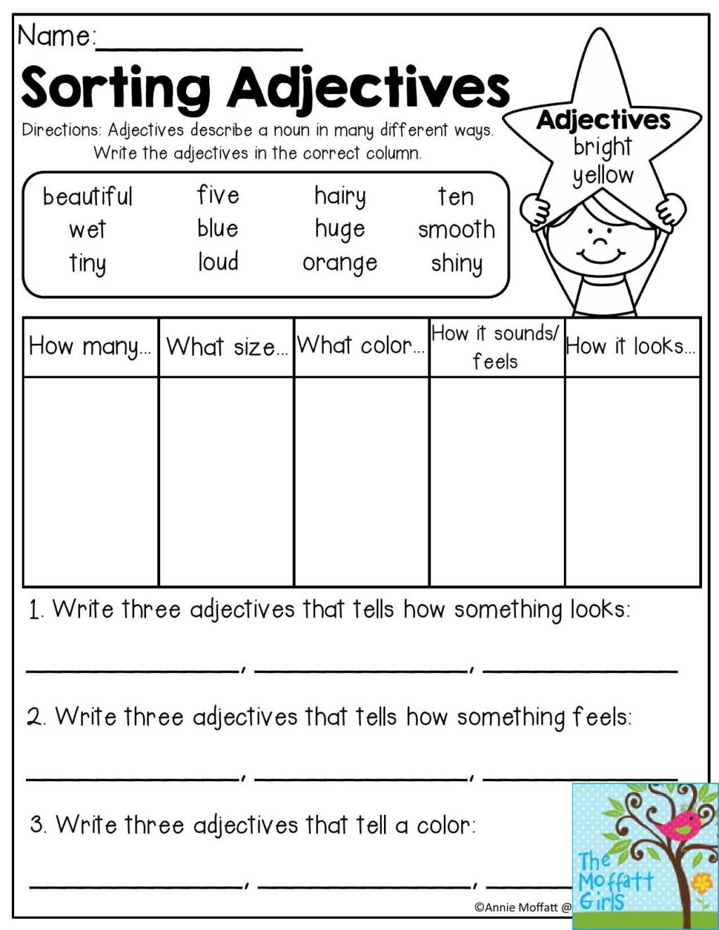 Grammar Worksheets 2nd Grade Printable Worksheet 2nd Grade Grammarorksheets Second to Printable