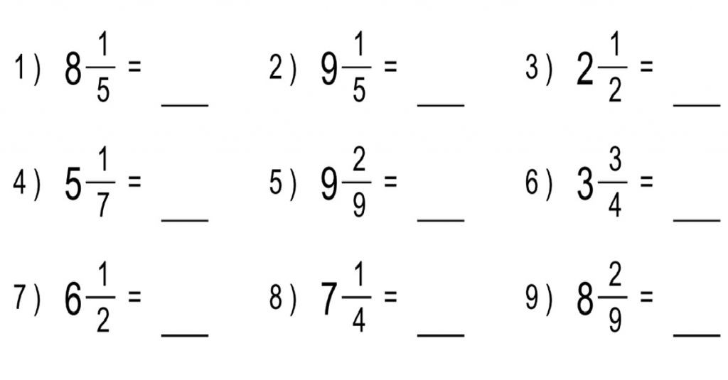 Improper to Mixed Number Worksheet 5th 5 2 Mixed Numbers Lessons Tes Teach
