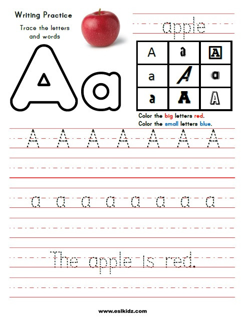 Letter A Phonics Worksheets Phonics Activities Games and Worksheets for Kids