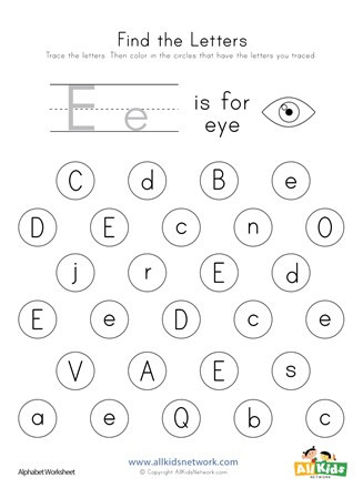 find letter e worksheet thumbnail preview 4bbae5a6 1cc1 4773 df7c f a7e8 327x440