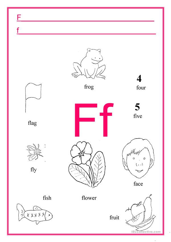 alphabet letters def fun activities games picture description exercises 3
