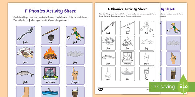 roi l 79 f phonics activity sheet