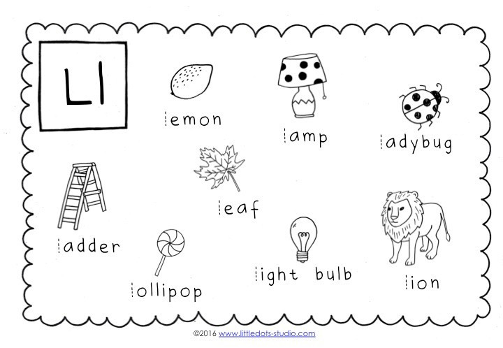 Letter L Preschool Worksheet Preschool Letter L Activities and Worksheets