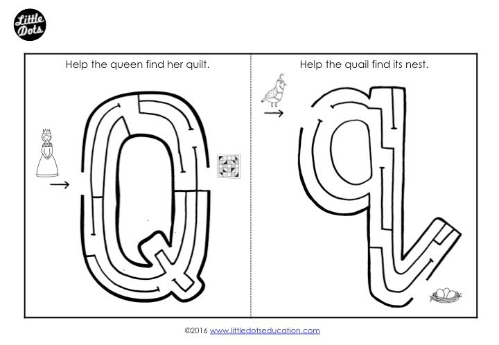 Letter Q Preschool Worksheets Preschool Letter Q Activities and Worksheets