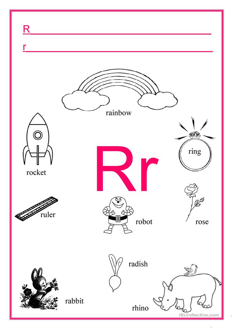 alphabet letter r fun activities games picture dictionaries pronunci 1