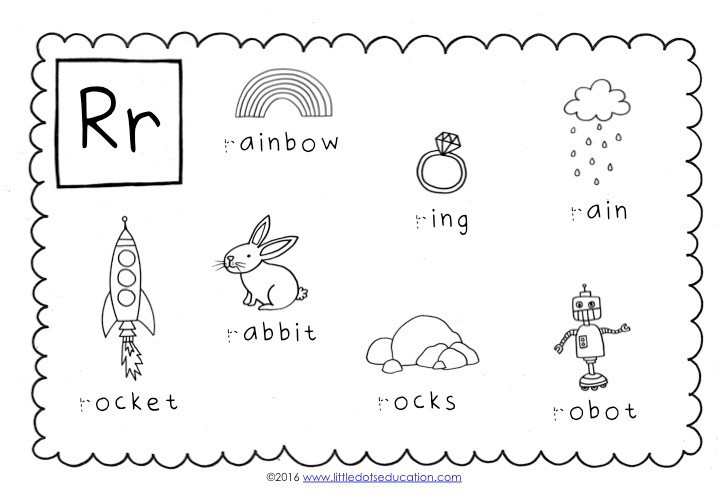 Letter R Worksheet for Kindergarten Preschool Letter R Activities and Worksheets