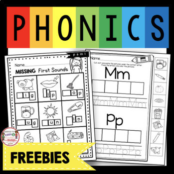 Letter sounds Worksheets Free Phonics Worksheets Beginning sounds