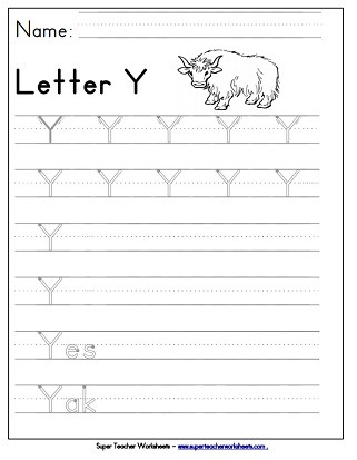 letter y capital