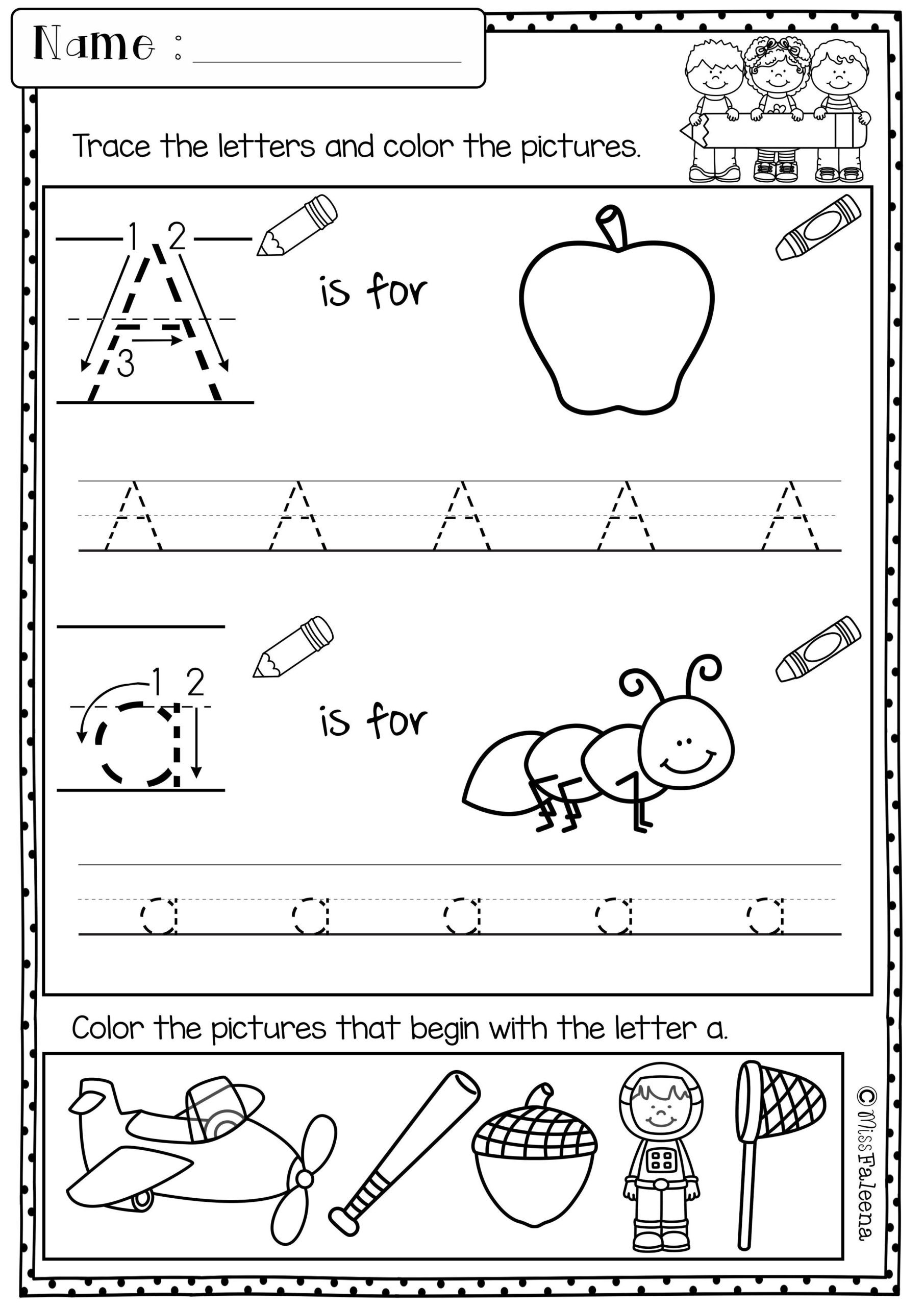 Letters and Numbers Worksheets Worksheet Letter and sound Recognition assessment Sheet