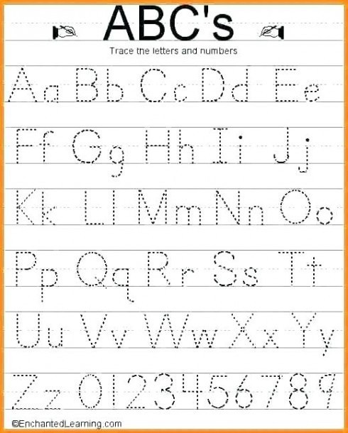 lowercase tracing worksheet kindergartenet worksheets for free letter work number