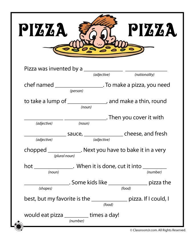 Mad Libs Printable Worksheets Found On Bing From
