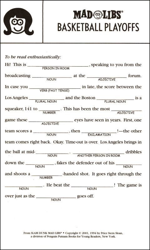 Mad Libs Printable Worksheets Pin On ☂✯mad Libs☀☂