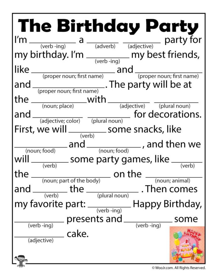 Mad Libs Printable Worksheets Woodlands Math Games Free Mad Lib Worksheets Ks3 Maths