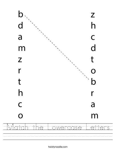 match the lowercase letters worksheet png 468x609 q85
