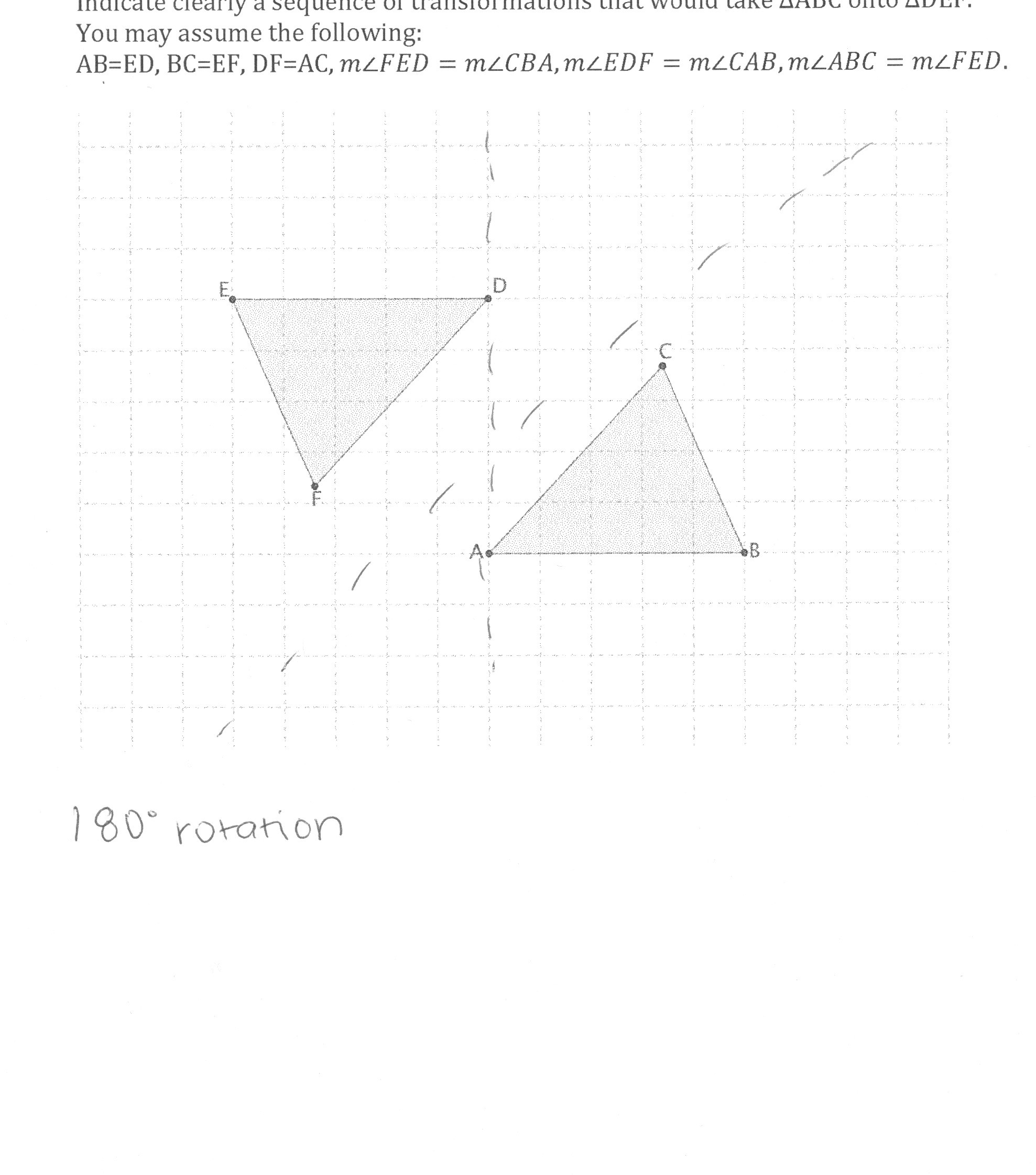 Multiple Transformations Worksheet Answers Rigid Transformations Worksheet
