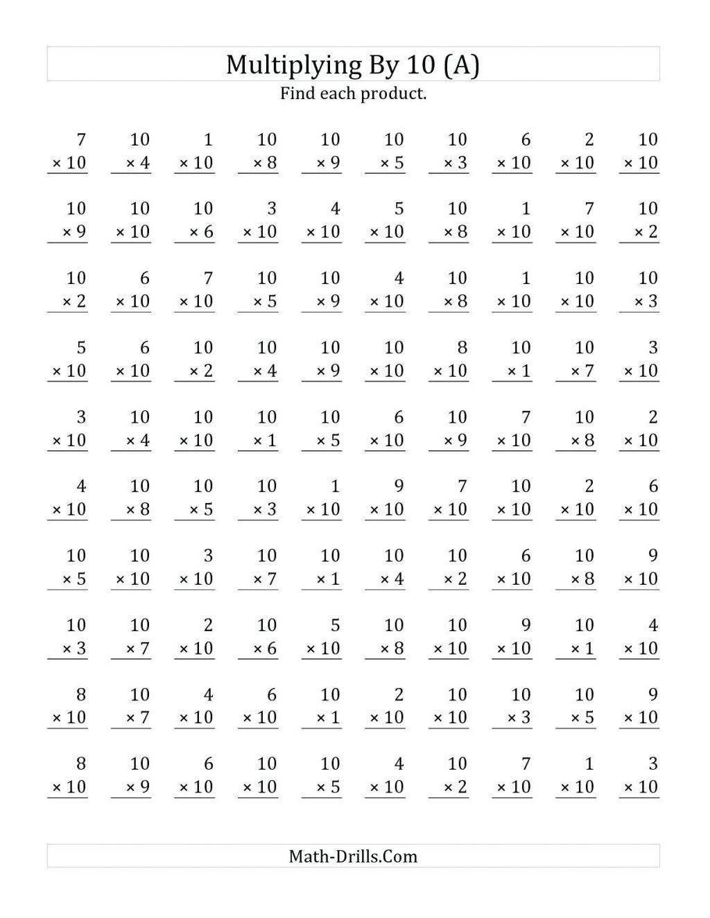 Multiplication Array Worksheets 3rd Grade Worksheet Third Grade Mathets Multiplication and Division
