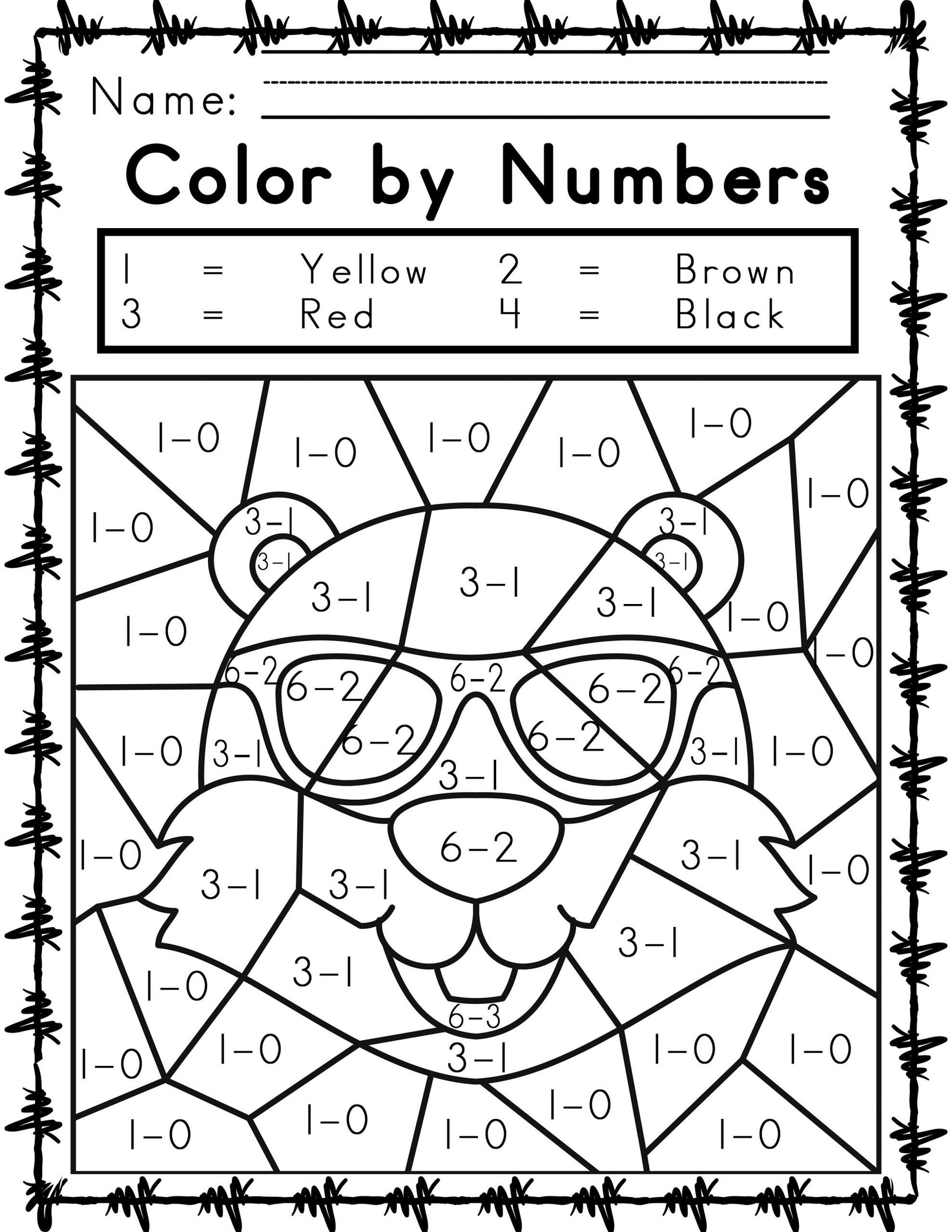 Multiplication Fact Fluency Worksheets Worksheets Printable Easy and Hard Color by Number Games