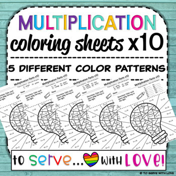 Multiplication Facts Coloring Worksheets Multiplication Facts Coloring Sheets X10 0 12 Practice