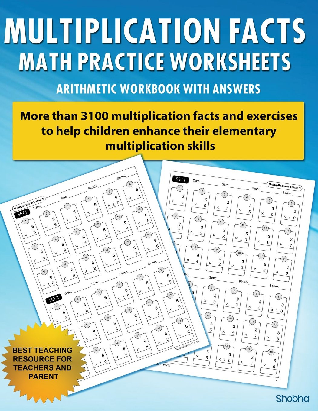 Multiplication Facts Strategies Worksheets Multiplication Facts Math Worksheet Practice Arithmetic