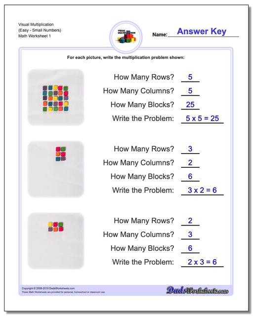 Multiplication Groups Of Worksheets 844 Free Multiplication Worksheets for Third Fourth and