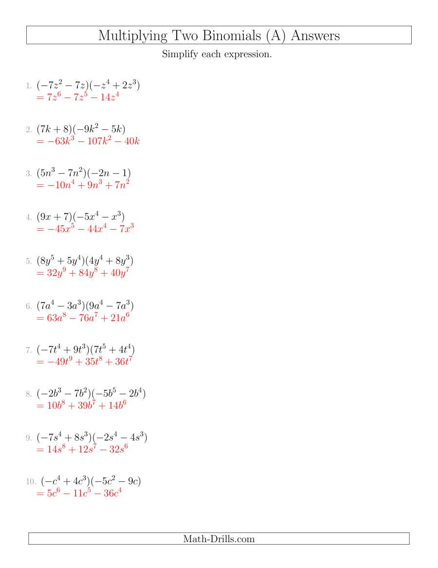 polynomials multiplying binomial binomial nothirdfactor 001