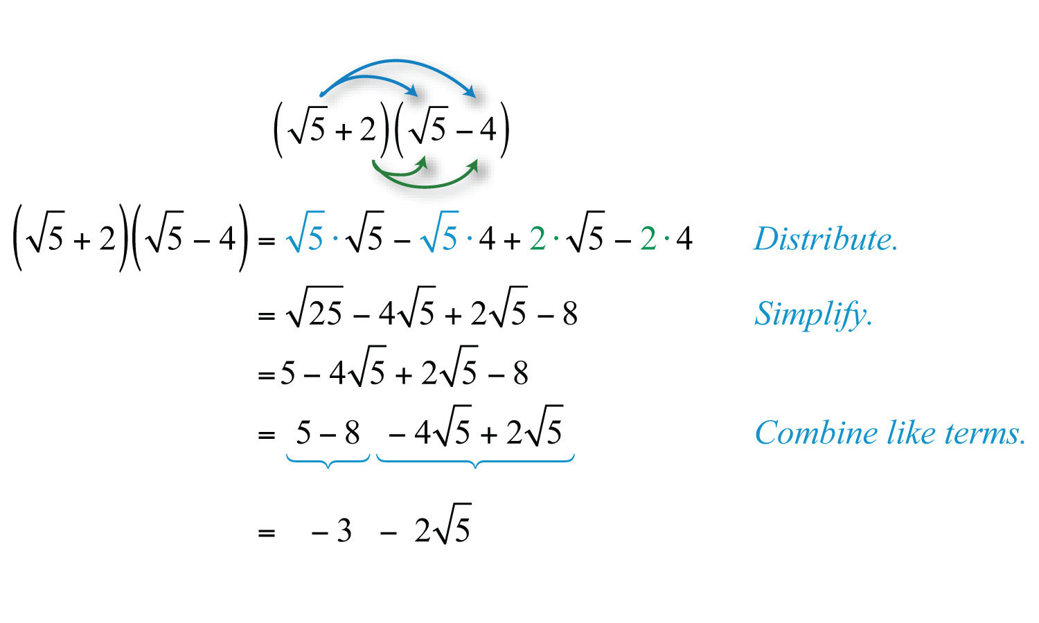 Multiplying Binomials with Radicals Worksheet Multiplying and Dividing Radical Expressions