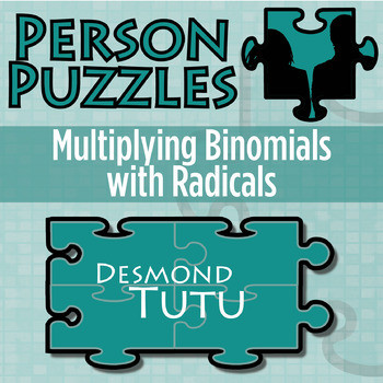Multiplying Binomials with Radicals Worksheet Person Puzzle Multiplying Binomials with Radicals