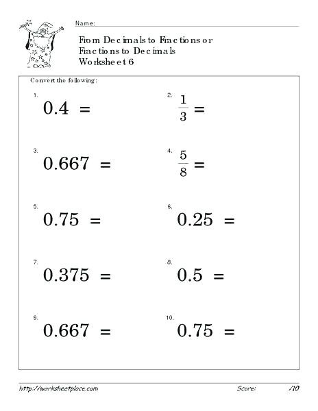 fractions worksheets grade 4 math beatricehew club 6