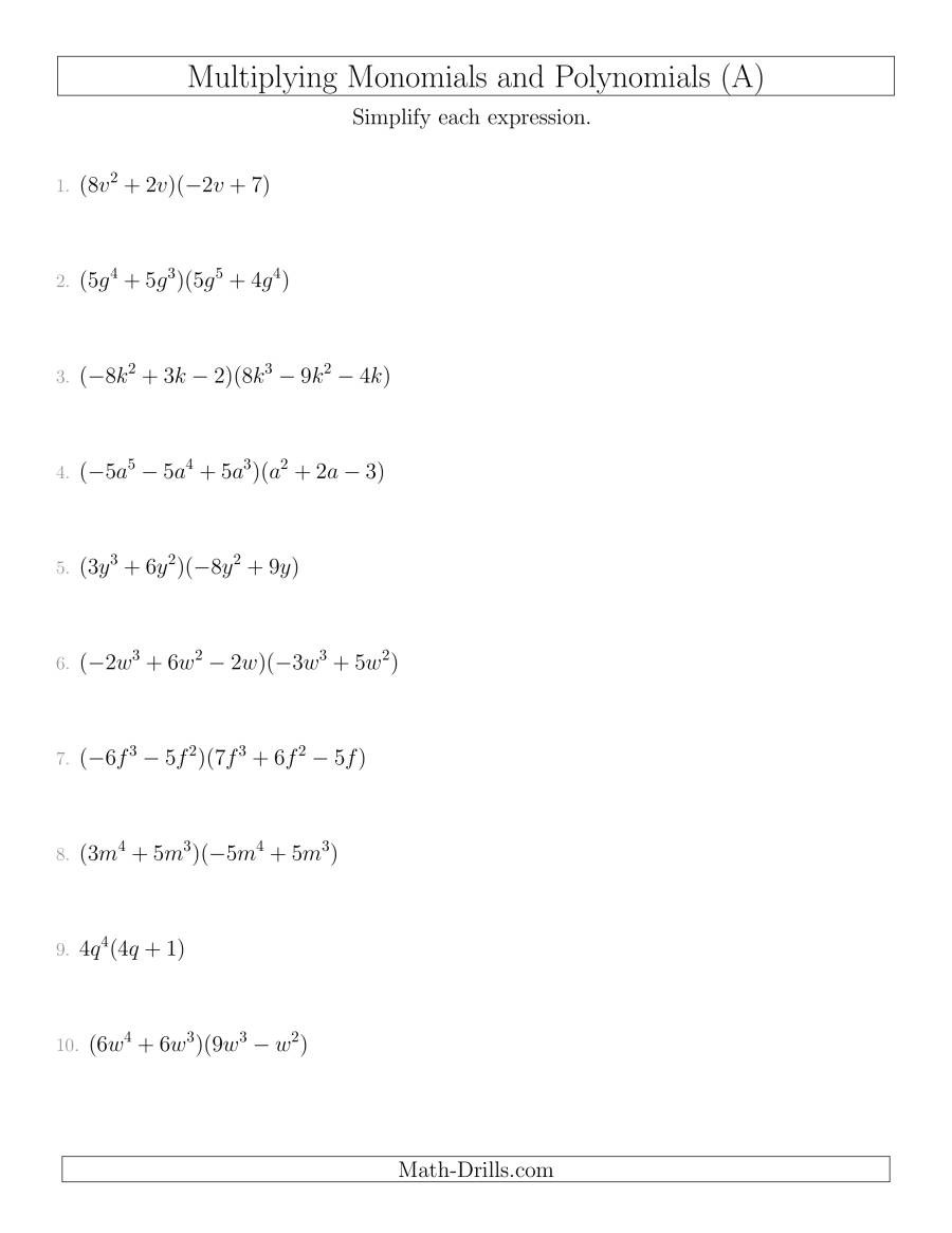 polynomials multiplying mixed mixed nothirdfactor 001