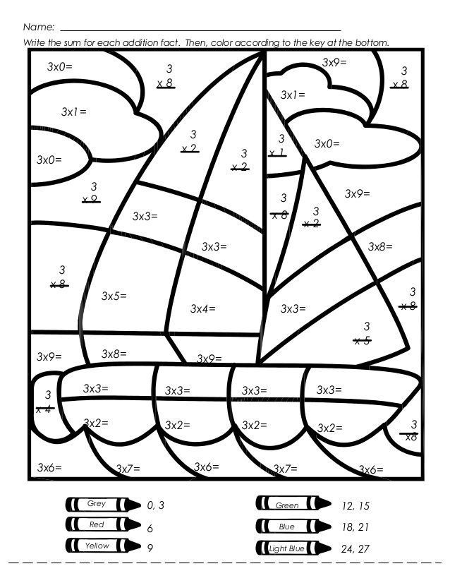 Mystery Picture Multiplication Worksheets Mystery Picture Multiplication Worksheets Multiplication
