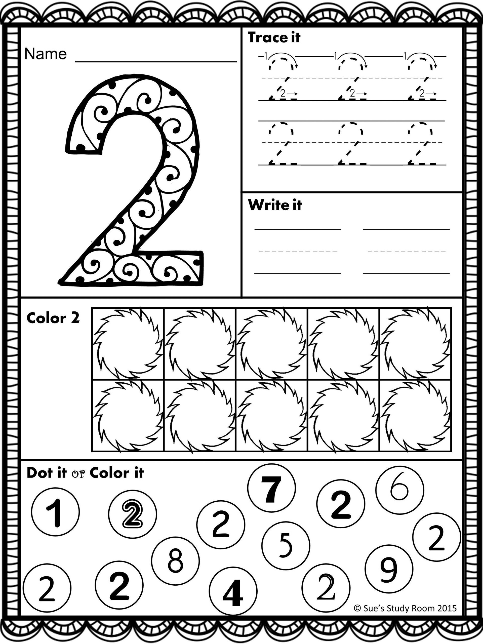 Number Identification Worksheets 1 20 Numbers Number Recognition 1 20