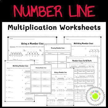 Number Line Multiplication Worksheet Number Line Multiplication Worksheets by Leily Geng
