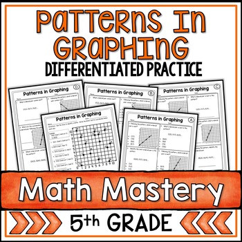 Number Patterns Worksheet 5th Grade Coordinate Graphing Patterns Worksheets