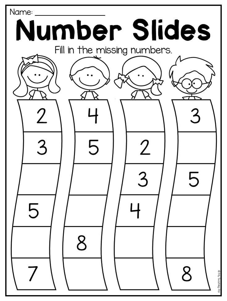 Number Review Worksheets for Preschool Kindergarten Numbers to 20 Worksheet Pack Distance