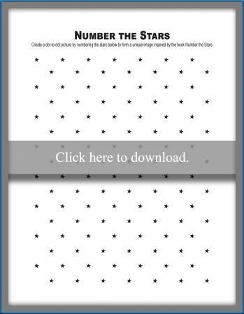 Number the Stars Worksheets Free Free Number the Stars Activities Lovetoknow