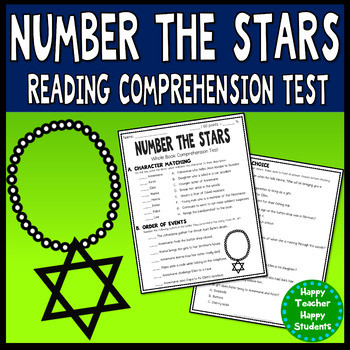 Number the Stars Worksheets Free Number the Stars Final Test Worksheets & Teaching Resources