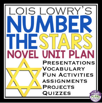 Number the Stars Worksheets Free Number the Stars Unit Plan