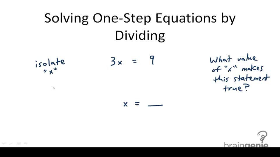 One Step Equations Multiplication Worksheet E Step Equations and Properties Of Equality