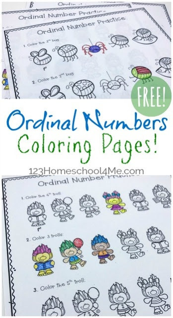 Ordinal Numbers Worksheet Grade 1 Free ordinal Numbers Worksheet