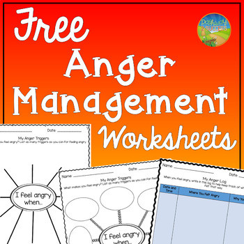 Printable Anger Management Worksheets Anger Management Worksheets