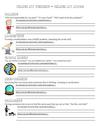 Printable Anger Management Worksheets Free Anger Management Workbooks
