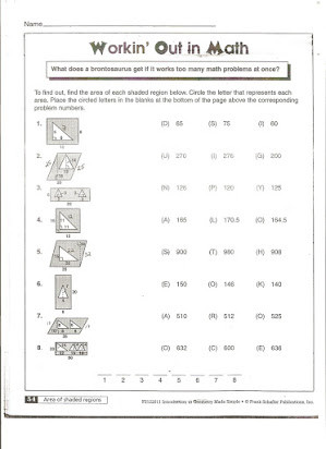 Printable area and Perimeter Worksheets Free Math Worksheets area Perimeter Volume