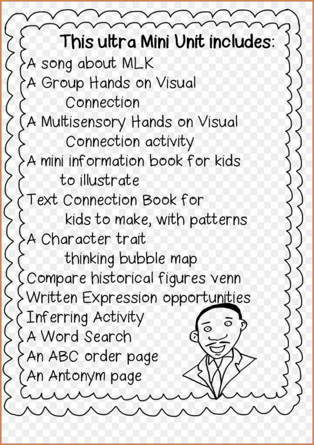 Printable Black History Worksheets Black History Month Worksheets for Kindergarten